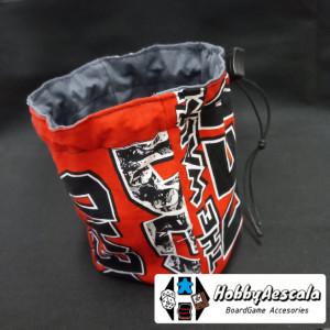Bolsa saco de tela con estampado Walking Dead