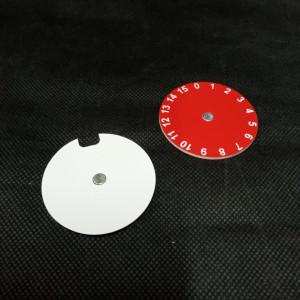 Dial acrílico sencillo personalizable