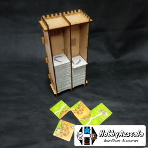 Torre para losetas compatible Carcassonne (Personalizable)