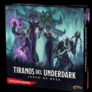 (PREVENTA) Tiranos del Underdark ed. Castellano (+ inserto opcional)